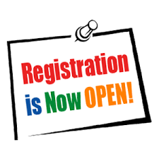 Online Student Registration is Open!